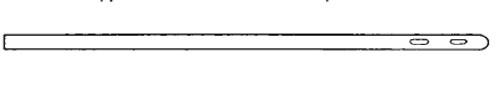 Continent Ostomy Catheter Straight Tip