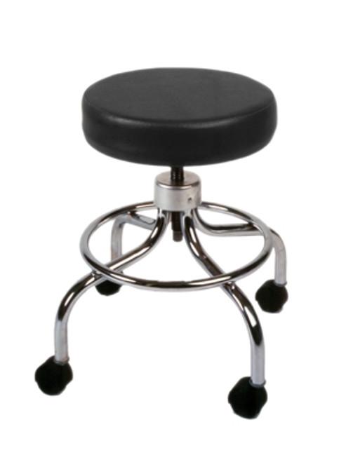 "mechanical mobile stool no back 18"" 24"" h"