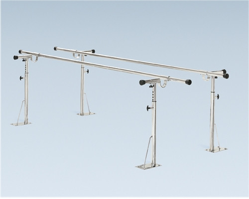 parallel bars floor mounted height and width adjustable