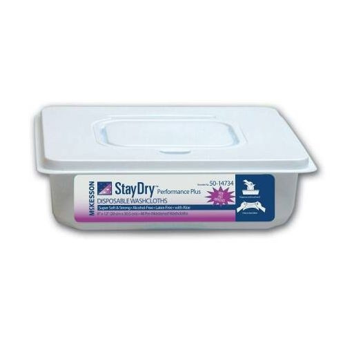 StayDry Performance Disposable Washcloths / Dry Wipes
