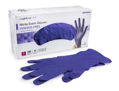 McKesson Confiderm 6.5CX Nitrile Extended Cuff Exam Gloves