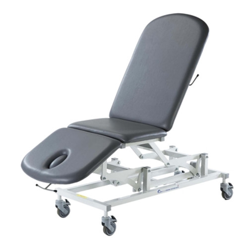 "Treatment Table - Electric Hi-Low, Sterling Table, 78"" L X 28""W X 18"" - 39"" H, 3-Section, Castors"