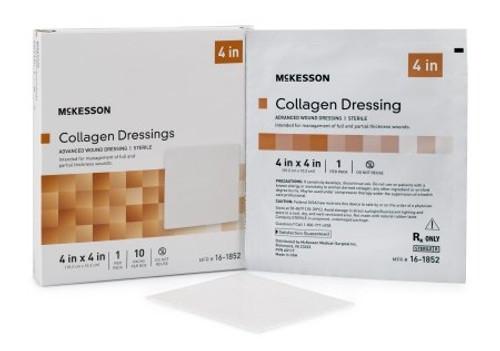 Collagen Dressing Matrix / Gel / Sheet McKesson Collagen / Sodium Alginate / Carboxylmethylcellulose (CMC) / Ethylenediaminetetraacetic Acid