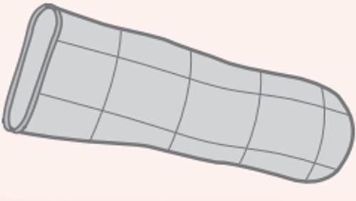 Foam Dressing with Silver PolyMem Silver Inch Finger / Toe Sterile