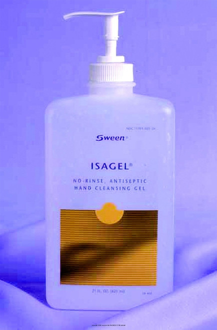 hand sanitizer gel, 21 oz. with ethyl alcohol