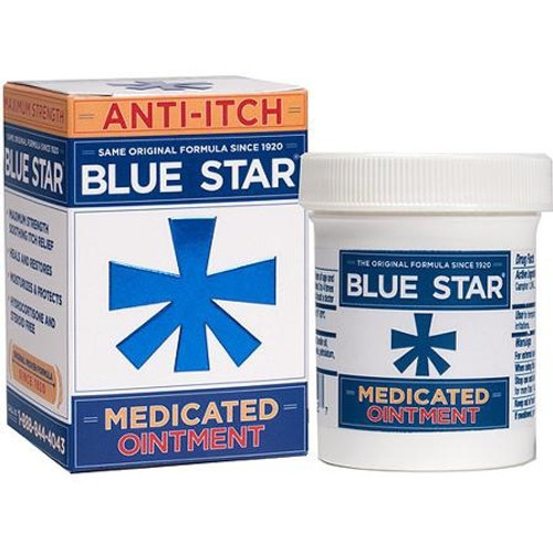 Itch Relief Blue Star