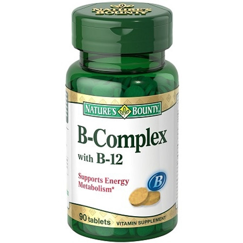 Vitamin B with B12 Supplement Nature's
