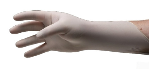 Exam Glove Pulse 151 Series NonSterile White Powder Free Latex Ambidextrous Fully Textured Not Chemo Approved Small