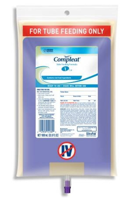Tube Feeding Unflavored, Compleat - 1000 mL