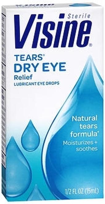 Lubricant Eye Drops Visine