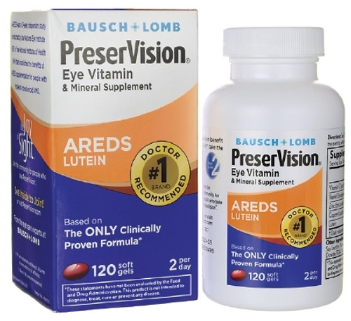 Eye Vitamin with Lutein Supplement PreserVision