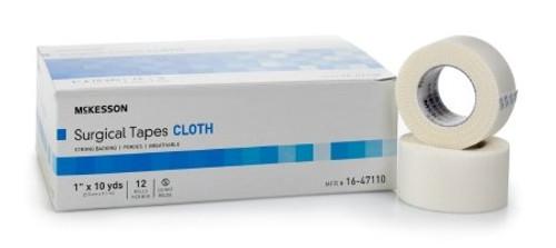 Medical Tape McKesson Silk-Like Cloth White NonSterile
