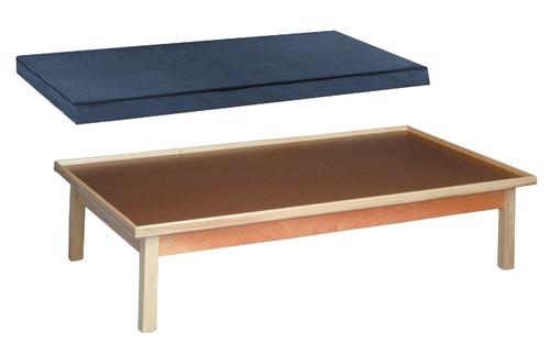 wooden platform table mat only
