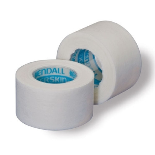 Medical Tape Kendall Hypoallergenic Paper White NonSterile