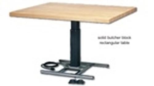 work table circular electric hilow