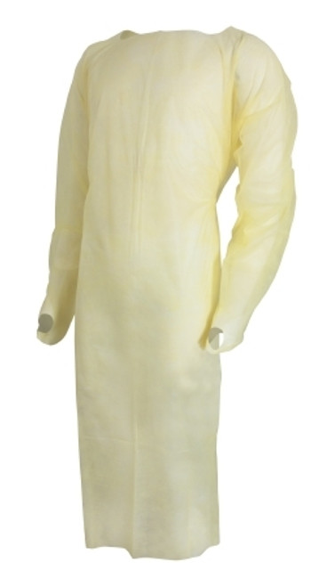 Over-the-Head Protective Procedure Gown McKesson One Size Fits Most Unisex NonSterile
