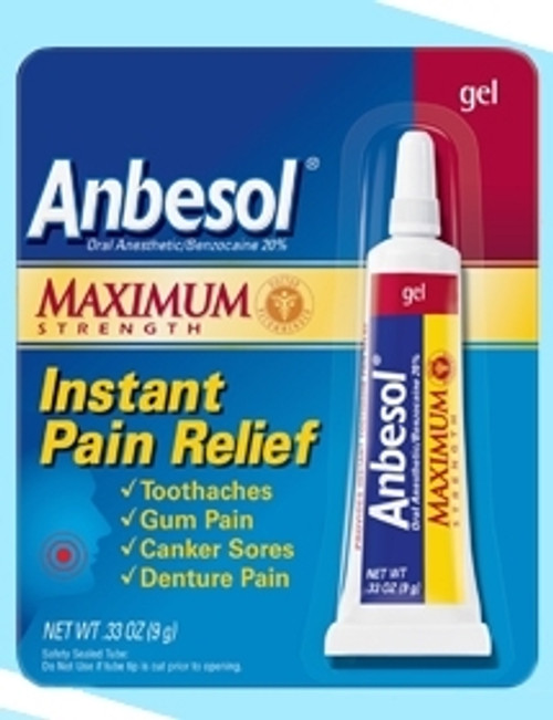 Oral Pain Relief Anbesol