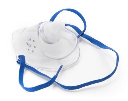 Oxygen Mask McKesson Short Pediatric One Size Fits Most Adjustable Elastic Head Strap