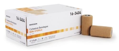 Cohesive Bandage McKesson Compression Self-adherent Closure Tan NonSterile