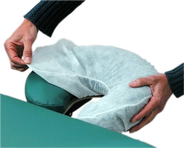 massage table accessory for headrest sani covers