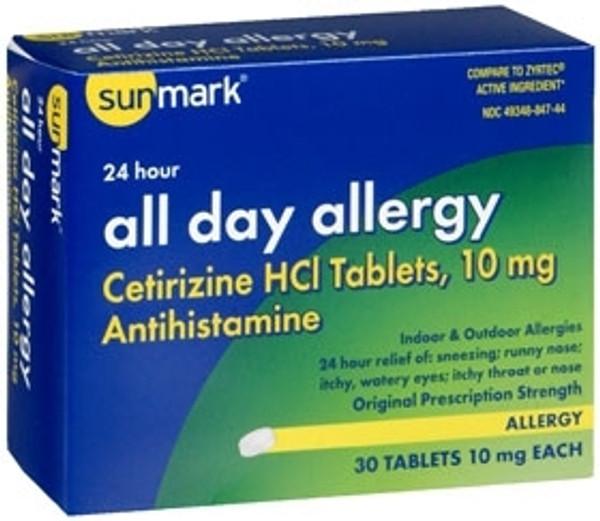Allergy Relief sunmark