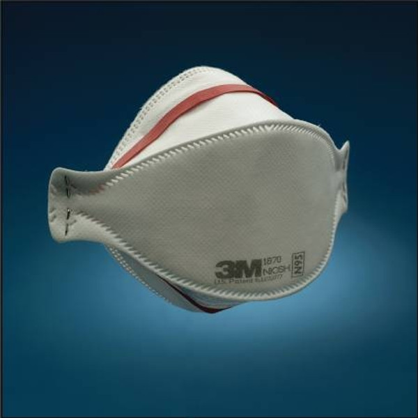3M Particulate Respirator / Surgical Mask, Flat Fold
