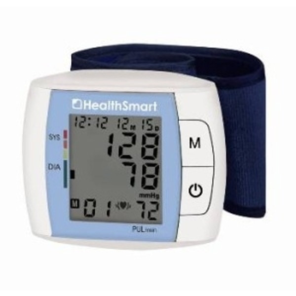 HealthSmart Standard Automatic Wrist DigitalBlood Pressure Monitor