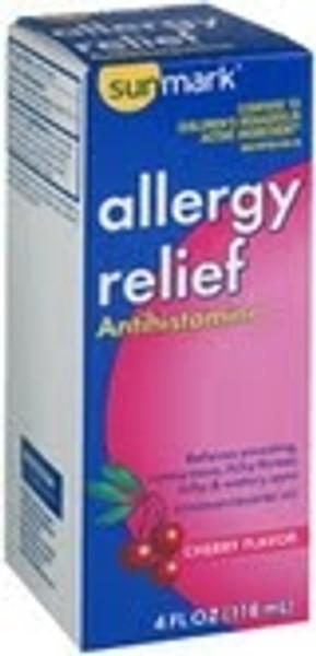 Allergy Relief Antihistamine Liquid