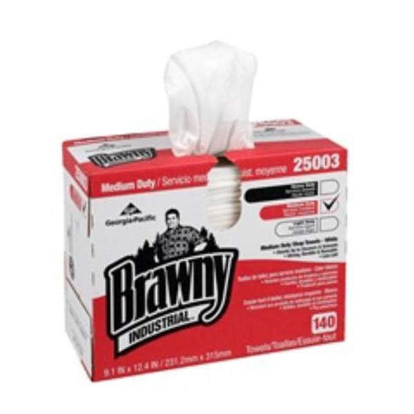 Brawny Shop Towel, Medium Duty - Reusable