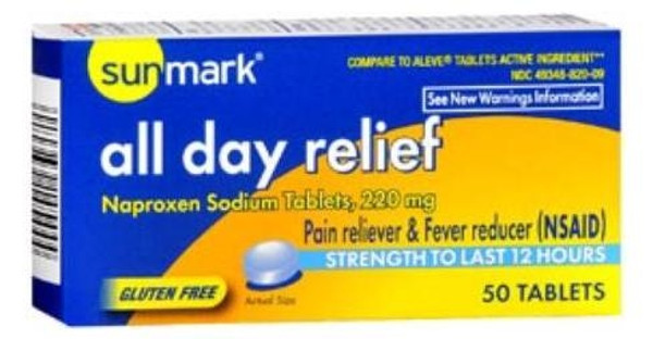 sunmark all day relief tablets