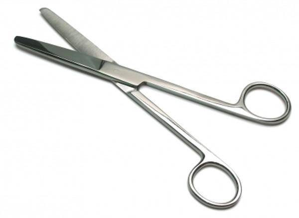 Operating Scissors, Straight