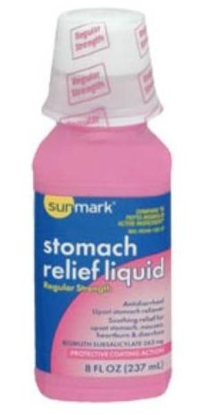 sunmark stomach relief liquid