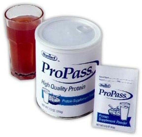 Oral Protein Supplement Unflavored, ProPass - 7.5 oz.
