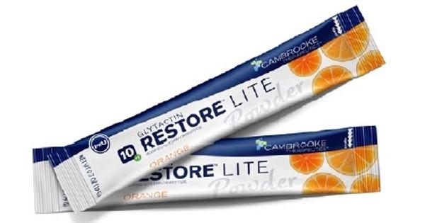 PKU Oral Supplement Glytactin Restore Lite Orange Flavor
