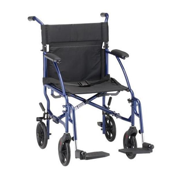 18 inch Ultra Lightweight Transport Chair (379)