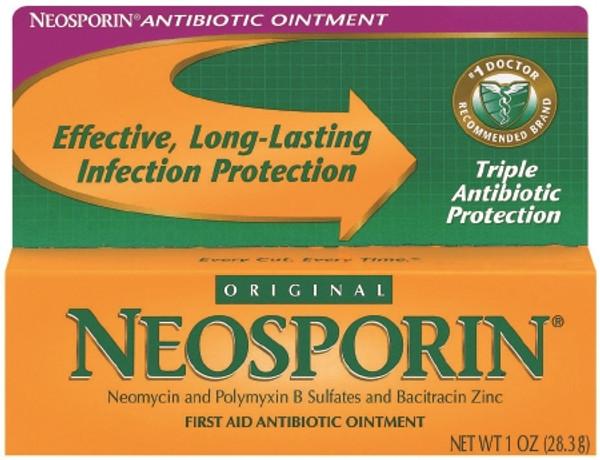 Johnson & Johnson Neosporin First Aid Antibiotic