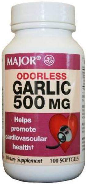 Garlic Oil Supplement 500 mg