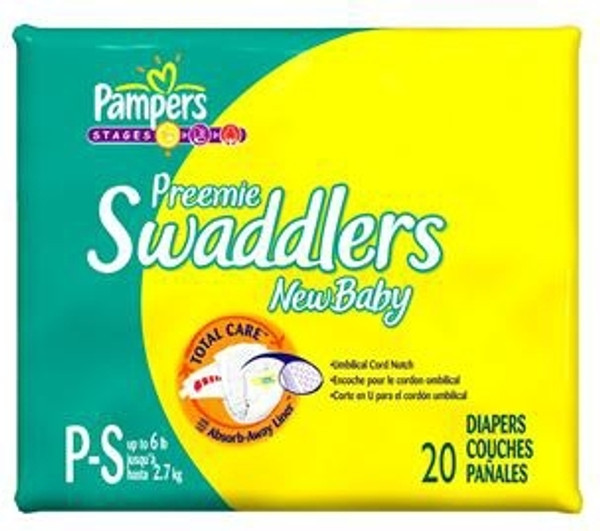 Proctor & Gamble Pampers Diaper