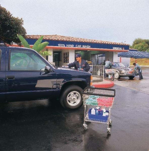 Car Wash Towel Cart