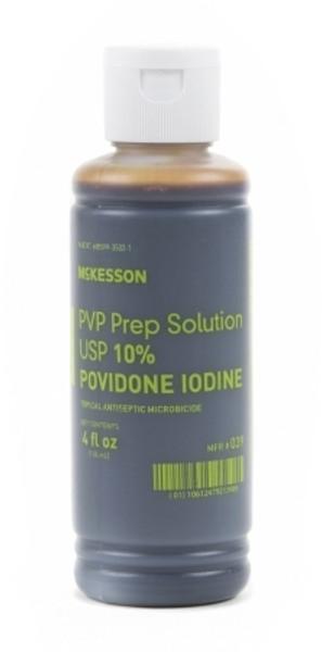 Prep Solution McKesson FlipTop Bottle PovidoneIodine