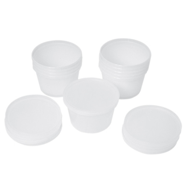 containers and lids for putty