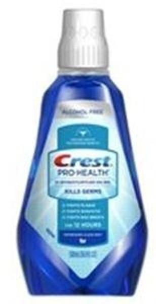 Mouthwash Crest PROHEALTH Clean Mint Flavor