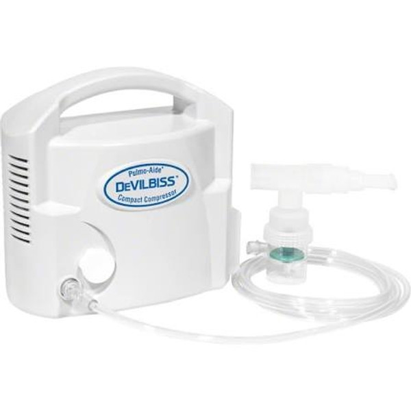 Pulmo-Aide Compact Compressor with Disposable Nebulizer