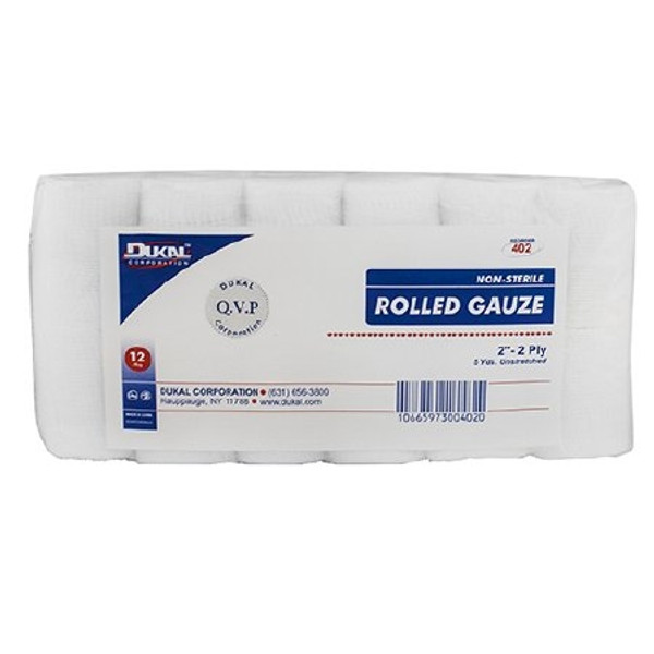 Bandage Roll Dukal Cotton Gauze Roll NonSterile