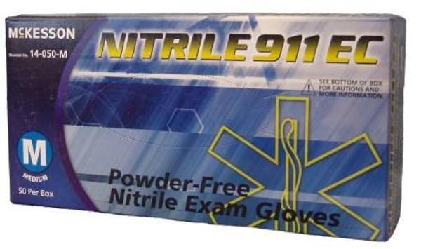 Nitrile 911 Ec Powder Free Nitrile Exam Glove Small