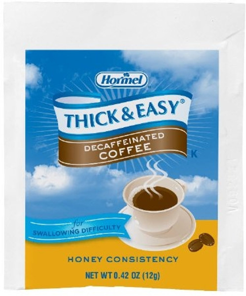Thickened Beverage Thick & Easy 0.42 oz. Individual Packet Ready to Mix Honey Consistency