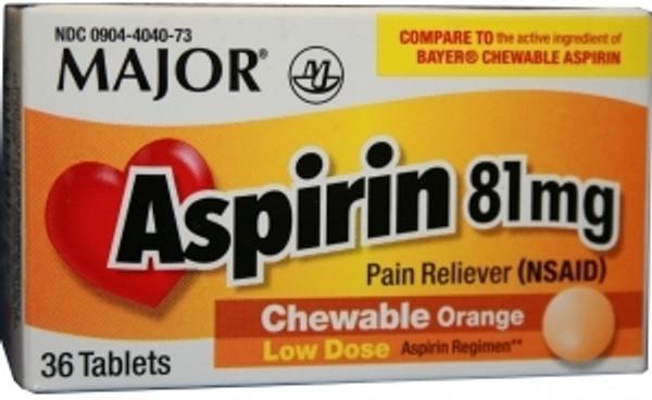 Children's Pain Relief Aspirin