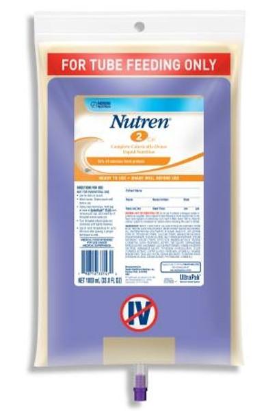 Tube Feeding Formula Unflavored, Nutren 2.0 - 1000 mL