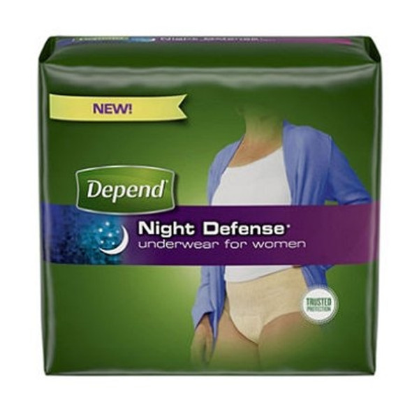 Adult Absorbent Underwear Depend Night Defense Pull On Disposable Heavy Absorbency