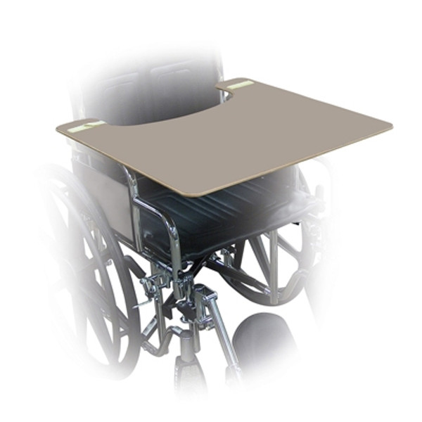 wheelchair trays gray plastic 24 w x 20 d x 12 h